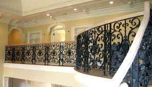 Banister Railing Concept Ideas Interior Wrought Iron Railings Lovely Banister Railing Concept