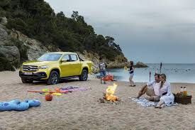 mercedes benz x class makes global debut first ever mercedes