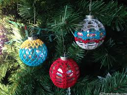 crochet ornaments cluster pattern 627handworks