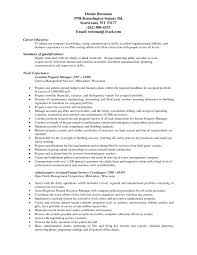 Resume Good Examples by Resume For Property Manager Resume For Your Job Application