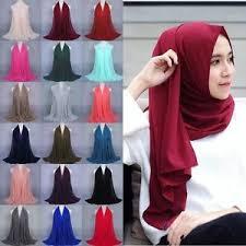 arab wrap fashion women chiffon scarf muslim arab wrap shawl