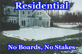 Build A Backyard Ice Rink Porta Rinx Portable Backyard Ice Skating Rinks Backyard Ice