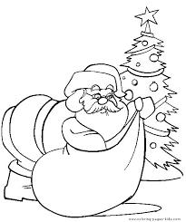 christmas color santa claus
