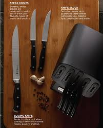 Kitchen Knives Sabatier Amazon Com Sabatier Self Sharpening Edgekeeper Pro 12 Piece