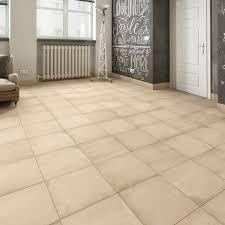 applique in cotto carrelage sol et mur beige effet ciment cotto l 45 x l 45 cm