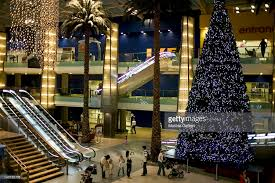 Christmas Decorations For Shopping Centres by Christmas Decorations Inside A Shopping Mall Dubai Uae Stock Photo