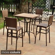 Sunvilla Bistro Chair Size 5 Piece Sets Patio Furniture Shop The Best Outdoor Seating