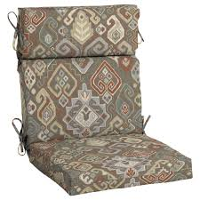 Hampton Bay Patio Dining Set - hampton bay southwestern saddle outdoor dining chair cushion