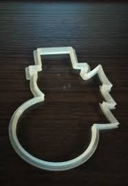 new year cookie cutters 3d print model new year cookie cutters cgtrader