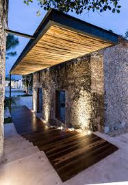 hacienda home interiors niop hacienda by as arquitectura wood inlay and floating roof
