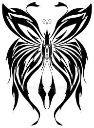 wings of an evil butterfly by mosflow on deviantart
