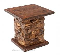 rustic end tables cheap modern rustic end tables refined rustic nightstands mountain