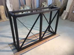 bar height table legs wood diy industrial sofa back tablemay need to change up the legs on for