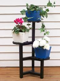 plant stand garden decor cool three tier metal plant stand