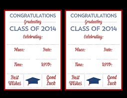fabulous free printable graduation open house invitations with
