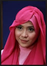 tutorial hijab turban ala april jasmine trend model hijab modern april jasmine new tutorial hijab