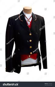 black riding jacket black riding jacket isolated clipping path stock photo 74476753