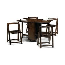 folding dining table concept drop leaf with fold away chairs