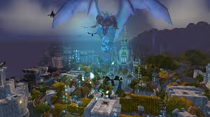 Stormwind Map World Of Warcraft What Who Is This Blue Dragon And Why Is It In