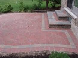 Patio Brick Pavers Brick Pavers Lake Mi Landscape Design Contractors Lake
