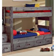 Special Bunk Beds Fort Driftwood Rustic Bunk Bed Rc Willey