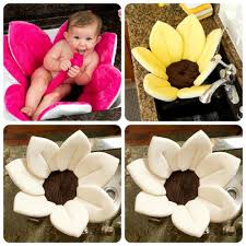 Blooming Bathtub 2017 With Filler 8 Petals Beige Color Newborn Blooming Bath Baby