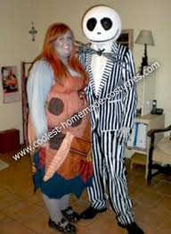 Halloween Costumes Nightmare Christmas Coolest Homemade Jack Sally Nightmare Christmas Couple