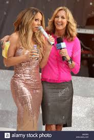 new york usa 24th may 2013 u0027gma u0027 co host lara spencer and