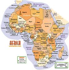 africa map physical interactive physical map of africa maps of all countries