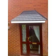 glass door canopies amazon 1800 grp door canopy