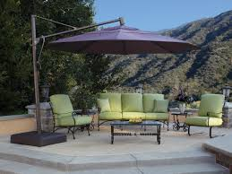 Cheap Patio Sets With Umbrella by Ideas Fantastic Offset Patio Umbrella For Patio Furniture Idea