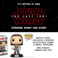opening night fan event star wars the last jedi be among the first to see star wars the studio movie grill