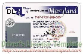 maryland drivers license psd md drivers license psd drivers