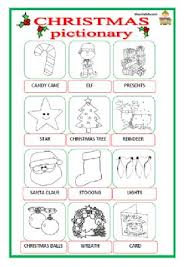 all worksheets christmas pictionary worksheets free printable