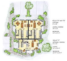 Multiplex Floor Plans Multi Family Plan 56561 At Familyhomeplans Com
