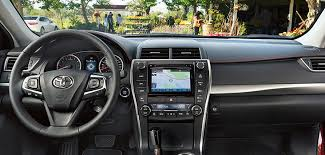 toyota camry dashboard 2016 toyota camry hybrid review