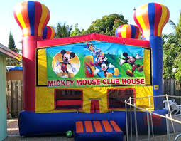 mickey mouse clubhouse bounce house mickey mouse bounce house rentals obstacle course bounce house