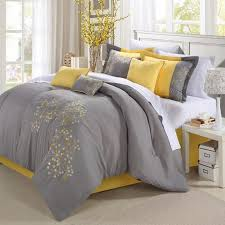 bedrooms stunning grey and yellow decorating ideas yellow and