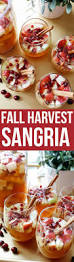 holiday cocktail recipes fall harvest sangria recipe holiday cocktails apple pear and