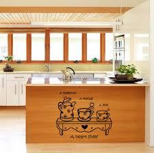 miroir cuisine 2017 vente chaude étanche thé tasse miroir cuisine stickers muraux
