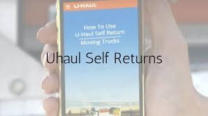 Uhaul Estimate by Uhaul Self Returns