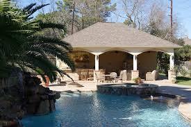 Texas Custom Patios Pool House Project In Houston Texas 32 U0027x26 U0027 Cabana Texas