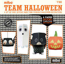 halloween paper products team halloween paper toys