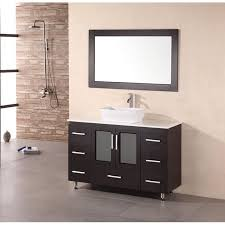 39 Inch Bathroom Vanity Stanton 48 Modern Bathroom Vanity Vessel Sink New With In 3