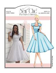 design pattern of dress patterns patterns by company or designer sew chic pattern