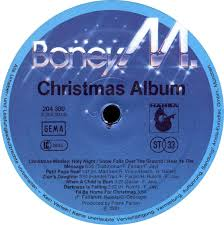 vinyl album boney m christmas album hansa international
