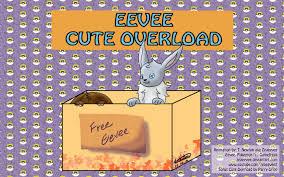 Cuteness Overload Meme - eevee cute overload meme youtube