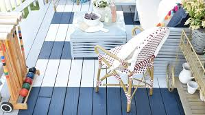 Best Way To Paint Metal Patio Furniture The Best Summer Diy Trend Is To Paint Your Own Rug