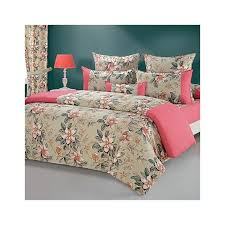 Swayam White N Pink Floral Buy Rose Pink Duvet Covers Comforters U0026 Quilts Online Shopping