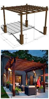 Building Your Own Pergola by How To Build Your Own Pergola 4 Diy Ideas And Tutorials Handy